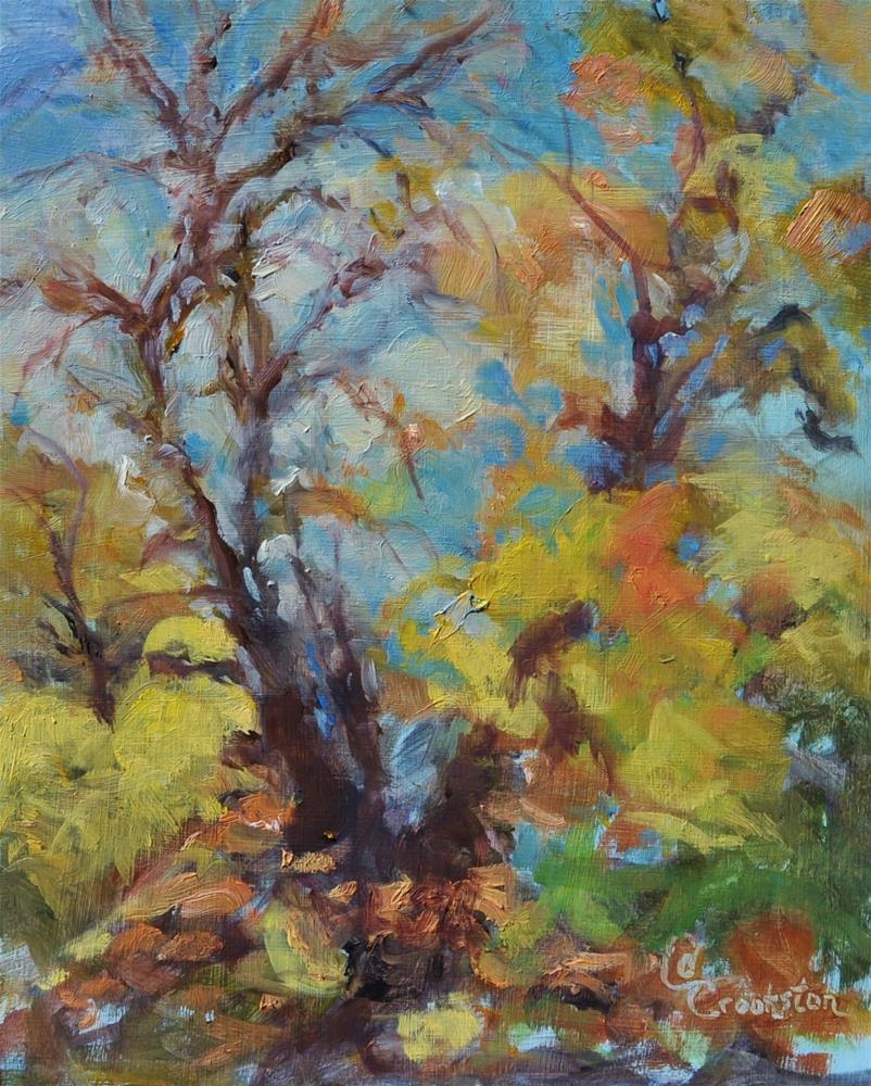 """Tree Tops"" original fine art by Catherine Crookston"