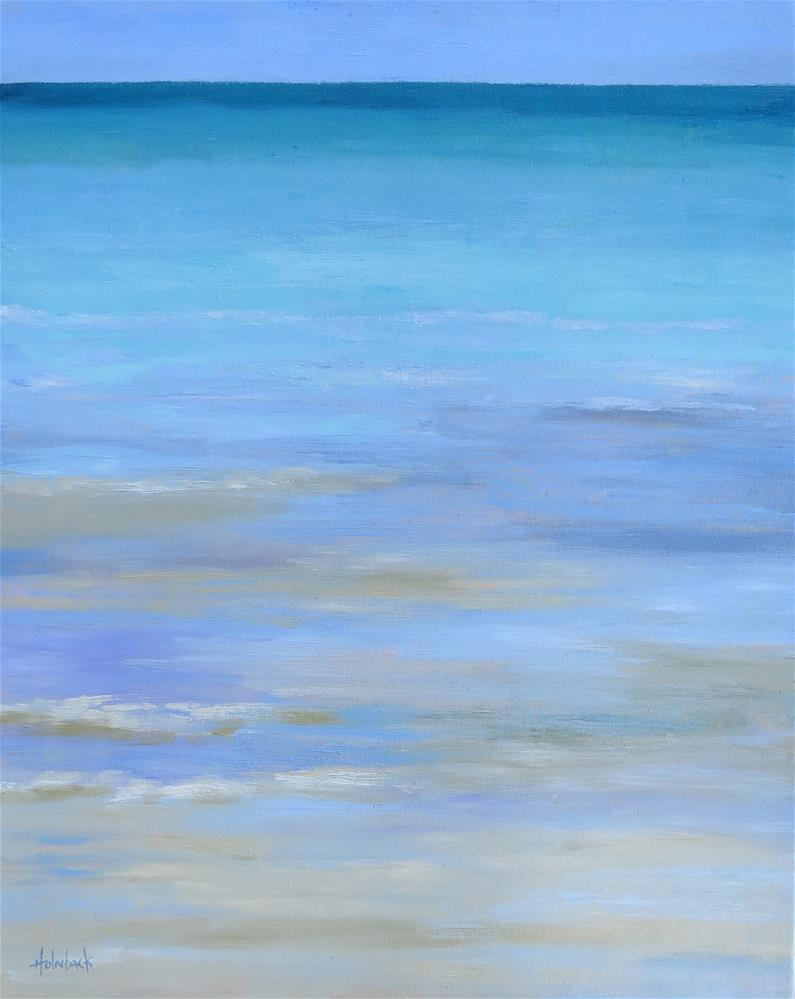 """There Is A Magic About The Sea"" original fine art by Pam Holnback"