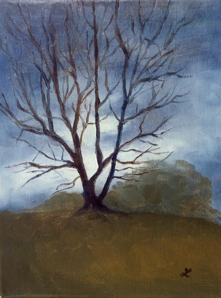 """Moody Ny"" original fine art by Lori Jacobs - Farist"