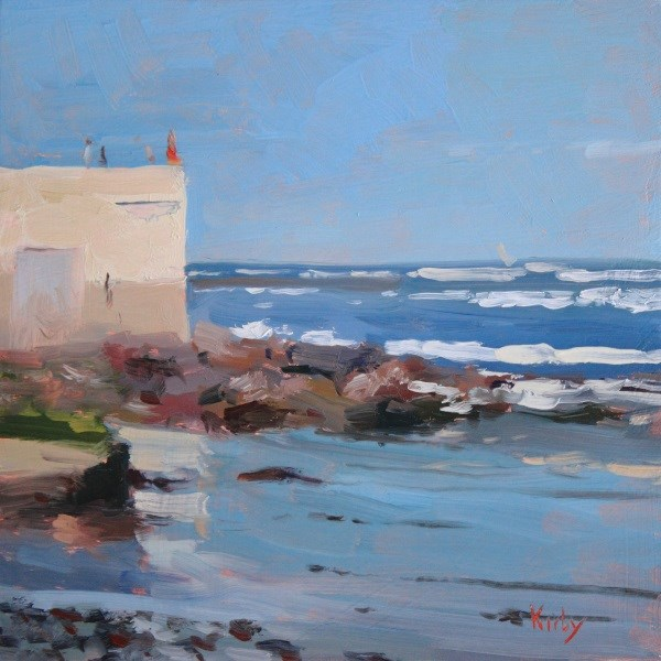 """Seaside"" original fine art by Randall Cogburn"