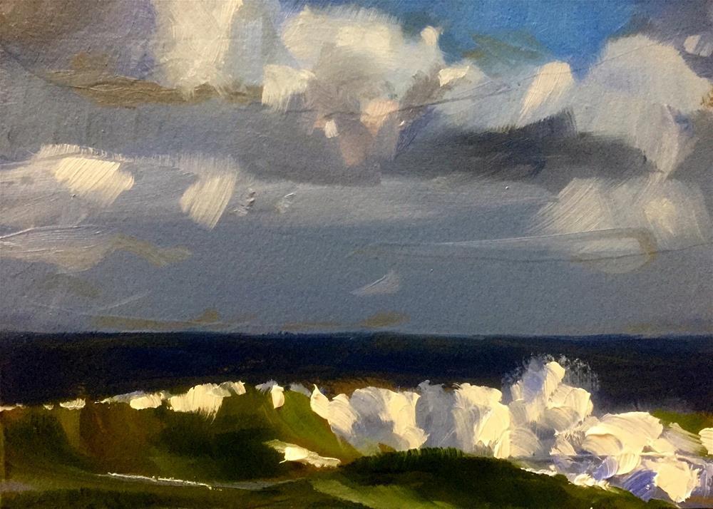 """Pristine Sea"" original fine art by Gary Bruton"