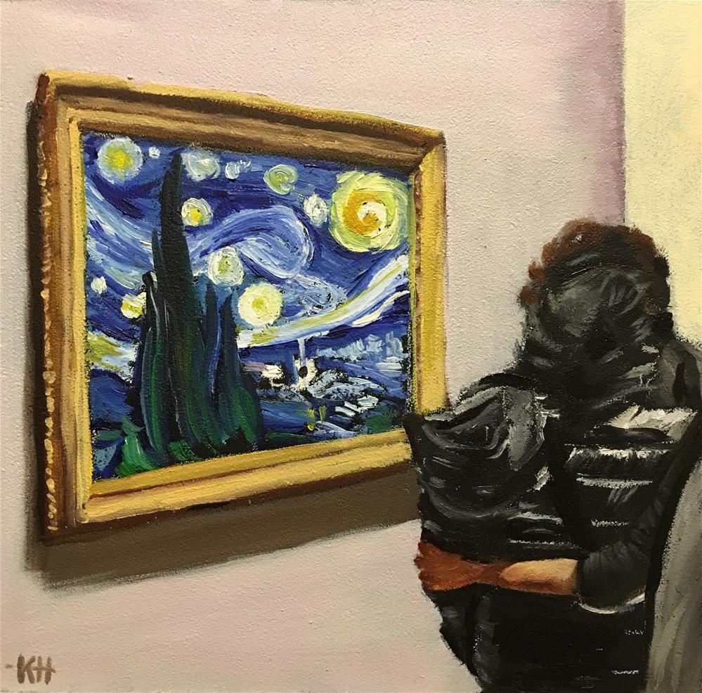 """Starry-Crossed Lovers"" original fine art by Katherine Hambley"