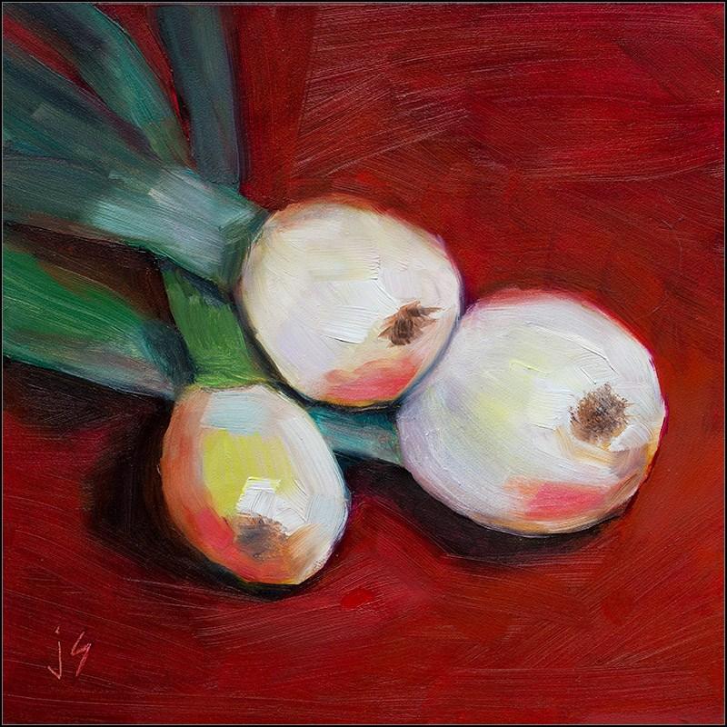 """""""Sweet Vidalias"""" original fine art by Johnna Schelling"""