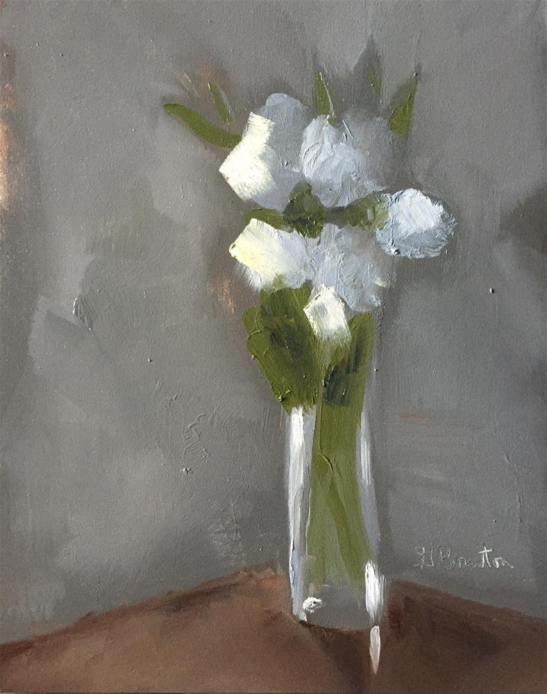 """Lisianthus, Soft Morning Light"" original fine art by Gary Bruton"