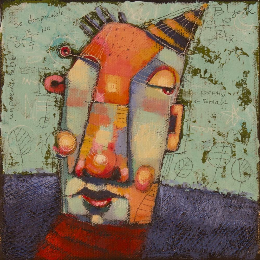 """Pretty Smart For An Odd Ball"" original fine art by Brenda York"