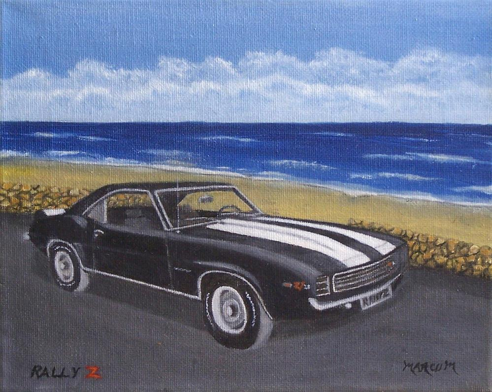 """Rally Z-28"" original fine art by John Marcum"
