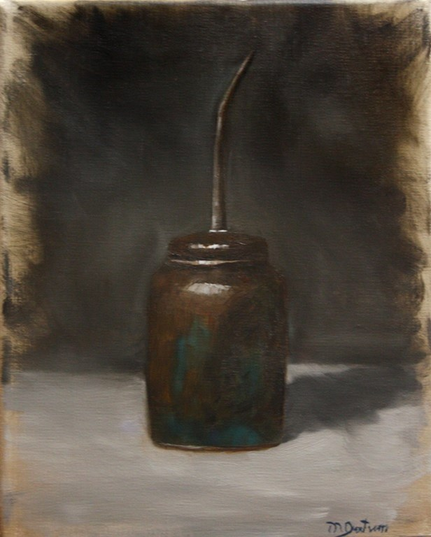 """Oil Can"" original fine art by Mary Datum"