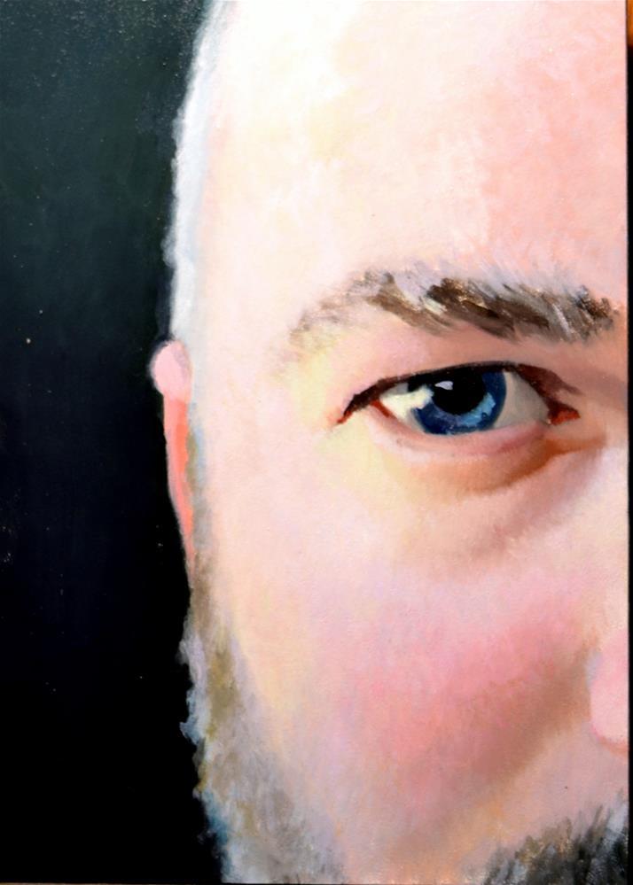 """#334 Up Close #1"" original fine art by Brian Burt"
