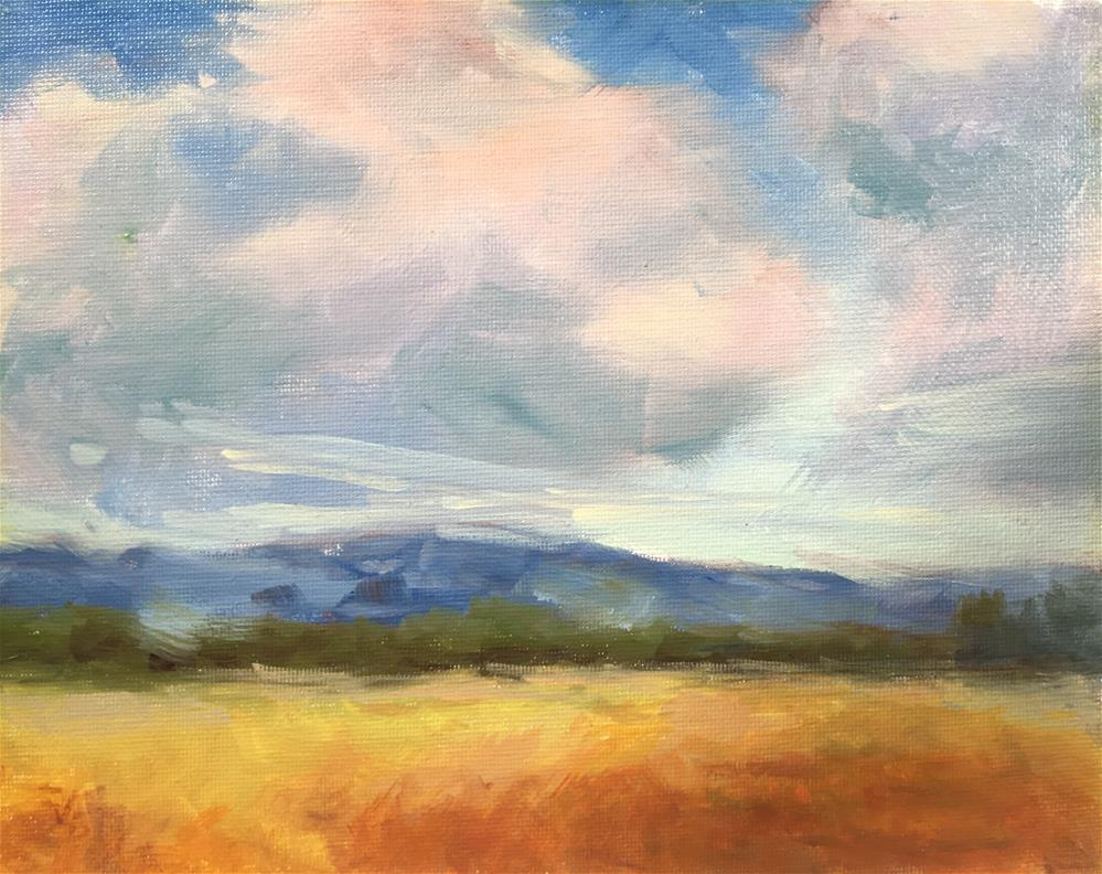 """Looking Westward"" original fine art by Victoria  Biedron"
