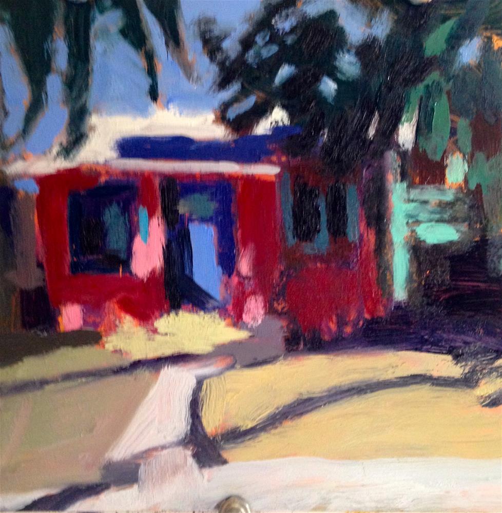"""Key West"" original fine art by Pamela Hoffmeister"