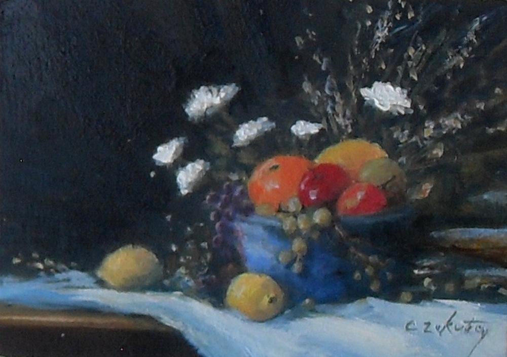 """Gathering"" original fine art by Catherine Zakutney"