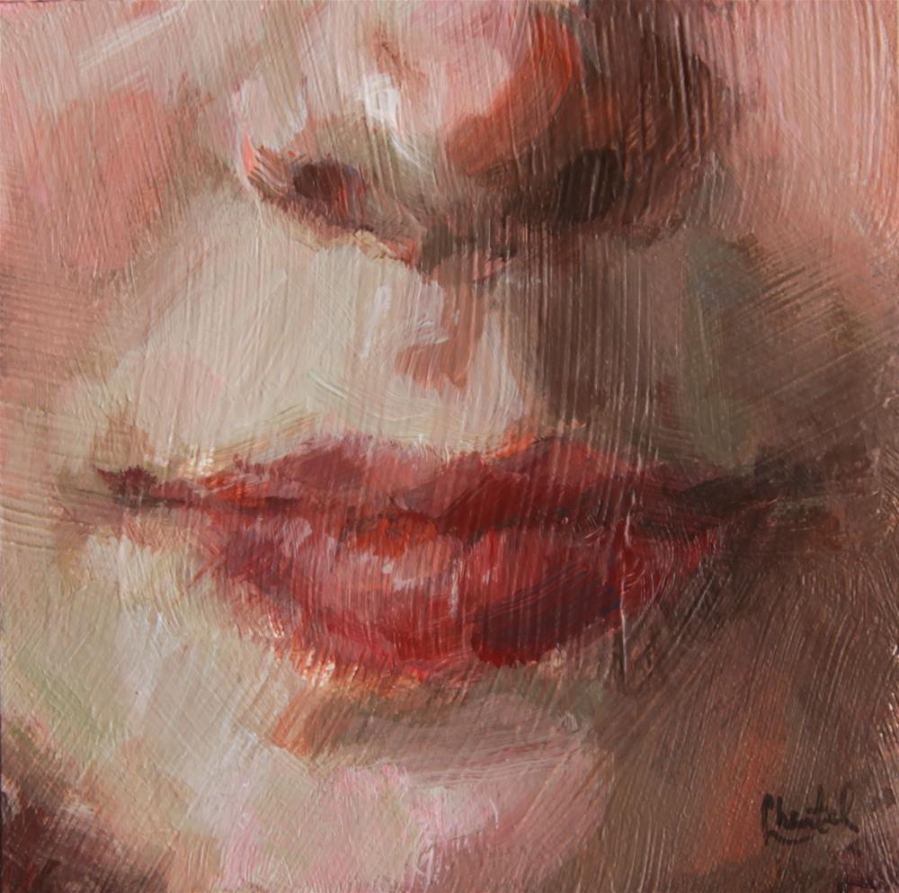 """""""Paint Me, Please"""" original fine art by Chantel Barber"""