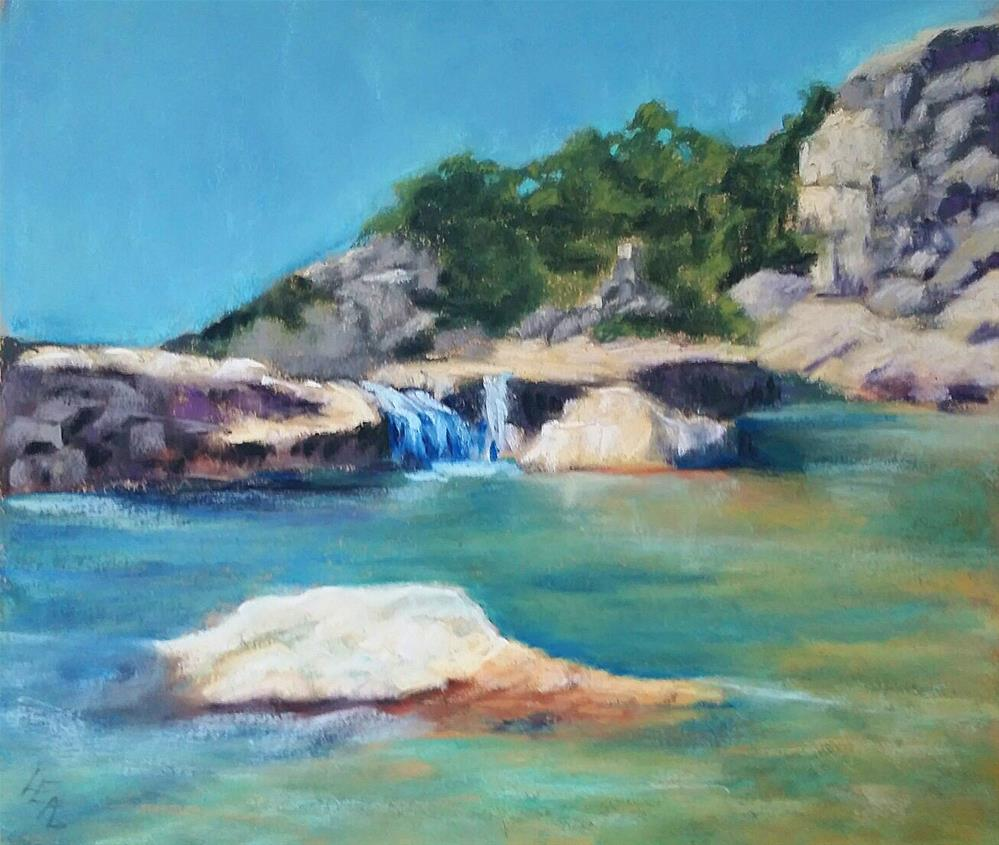 """Pedernales"" original fine art by Anna Lisa Leal"