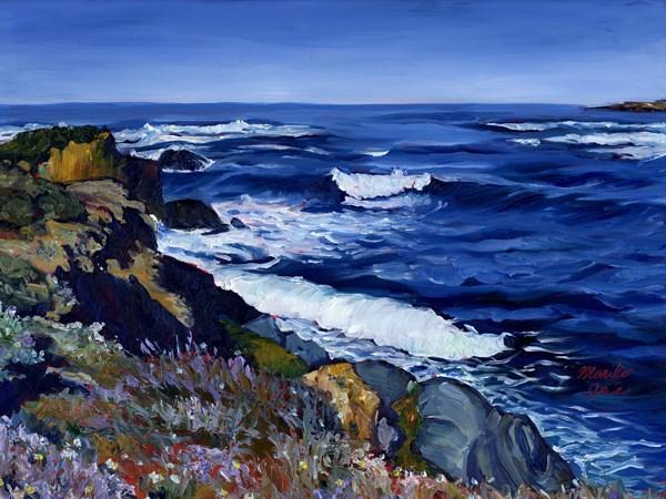 """Symphony of the Sea"" original fine art by Mariko Irie"