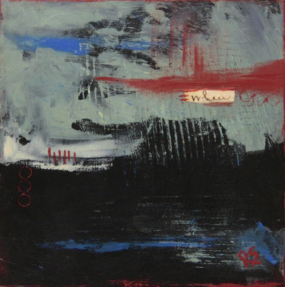 """Time and Distance"" original fine art by Roberta Schmidt"