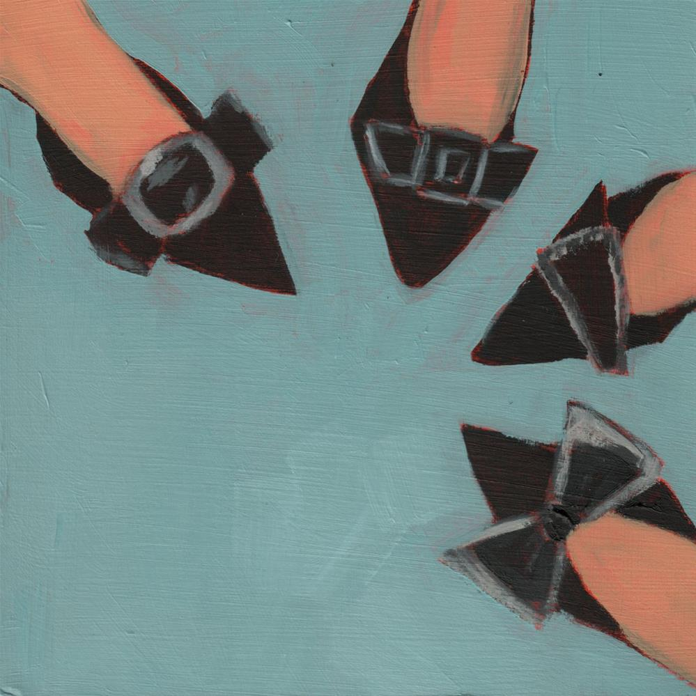 """""""Hokey Pokey (#447)"""" original fine art by Debbie Miller"""