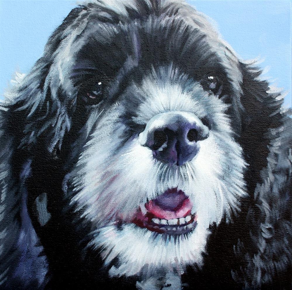 """Howie"" original fine art by Suzanne Berry"