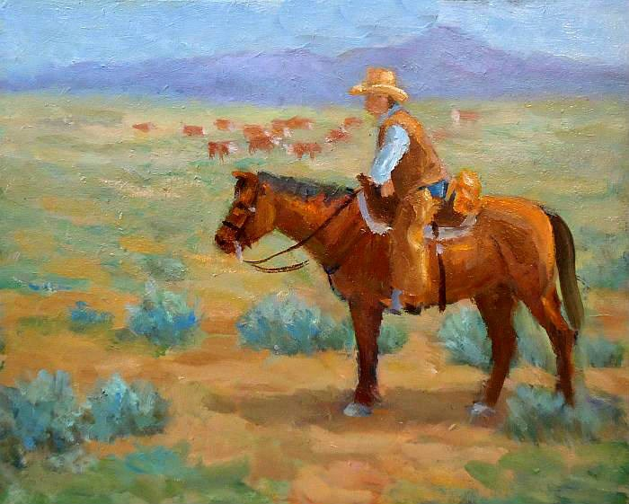 """An easy day"" original fine art by Jim Moyer"