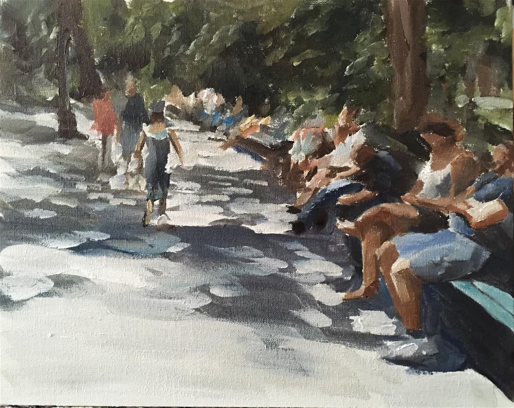"""Central Park June 2106"" original fine art by James Coates"