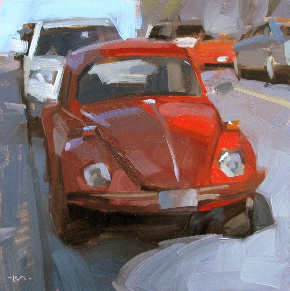 """""""Bug in Shadow"""" original fine art by Carol Marine"""