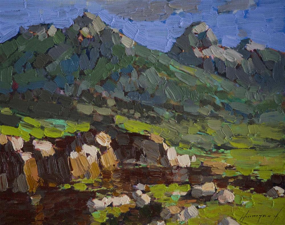 """Grand Teton National Park Original oil Painting Signed"" original fine art by V Yeremyan"