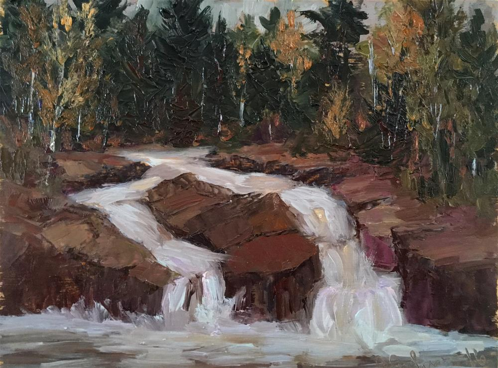 """Lester Creek "" original fine art by Judith Anderson"