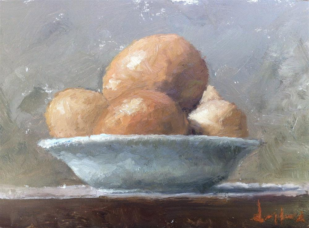 """Brown Eggs"" original fine art by Richard Jones"