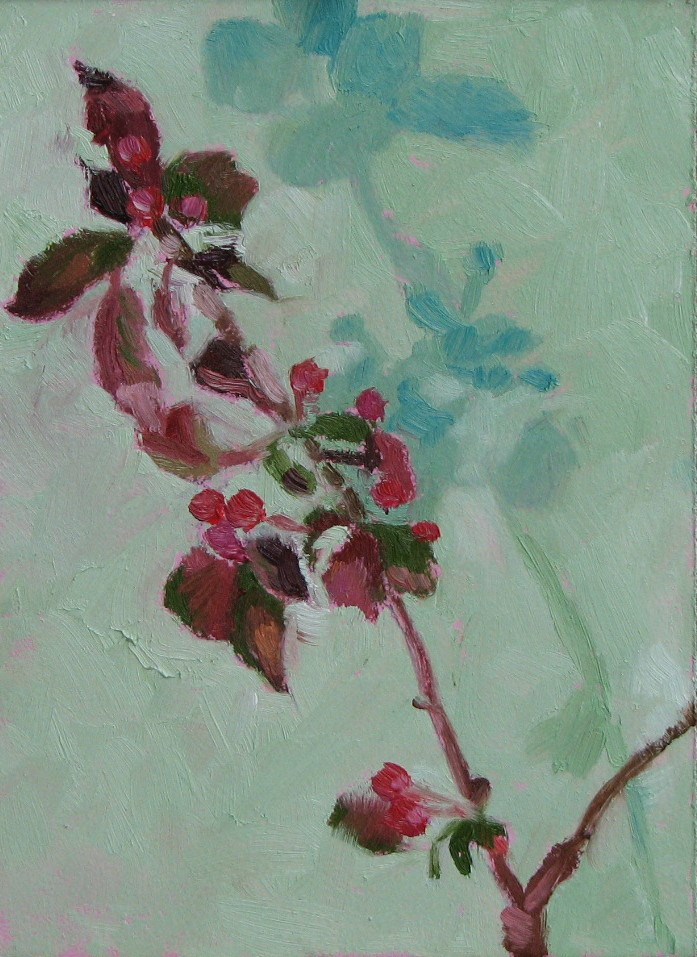 """Crab Apple 2"" original fine art by Pam Holnback"