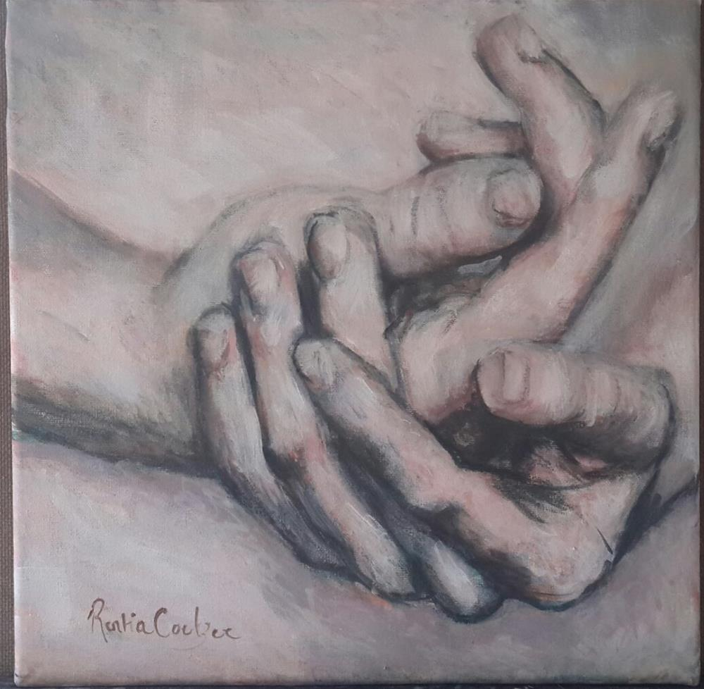 """Humble hands"" original fine art by Rentia Coetzee"