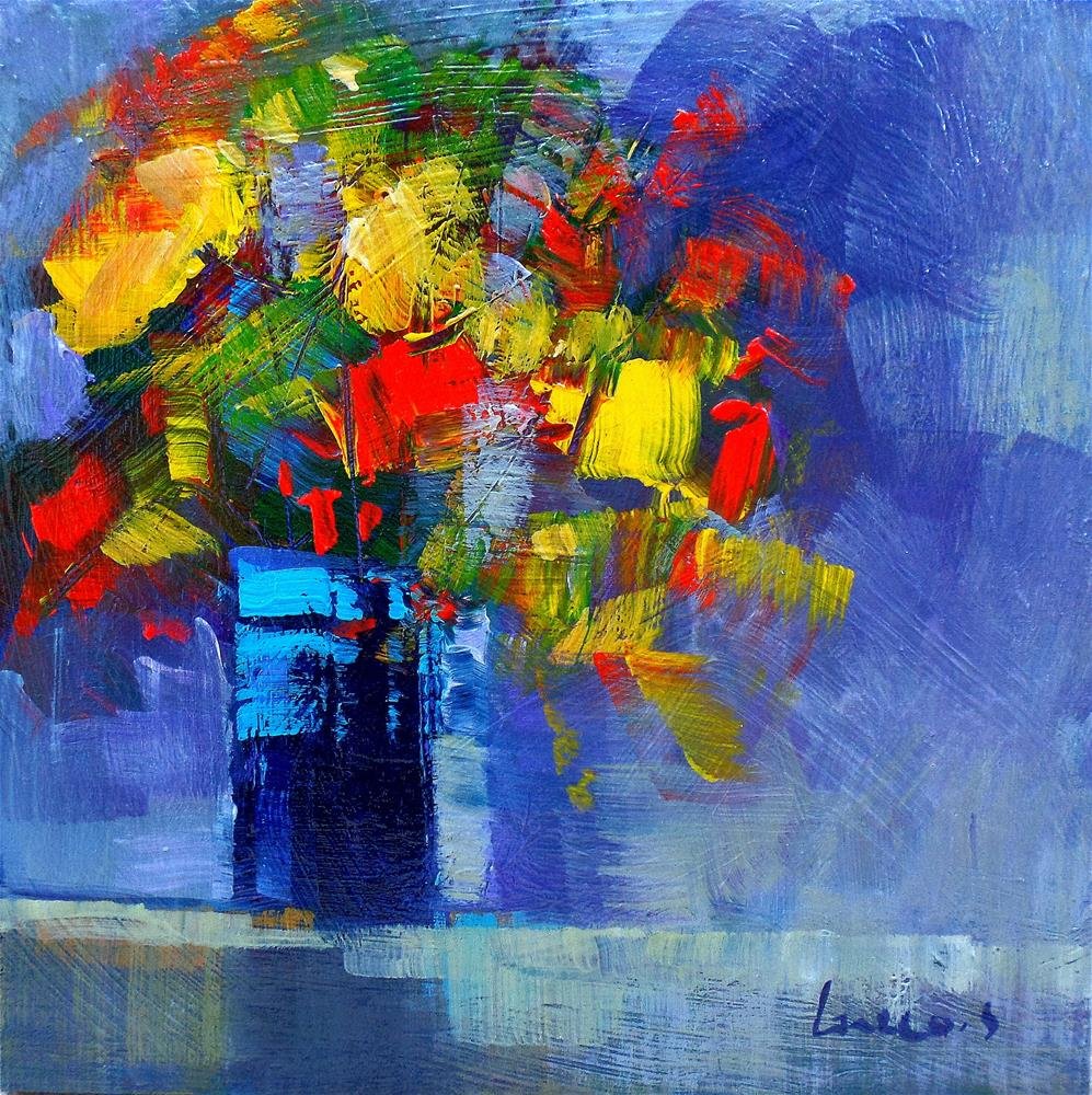"""Flowers 2"" original fine art by salvatore greco"