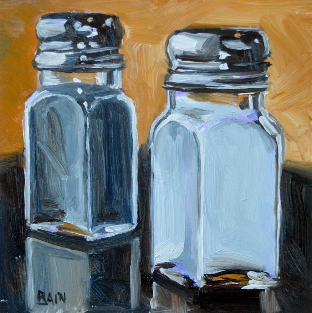 """""""Salt & Pepper"""" original fine art by Peter Bain"""