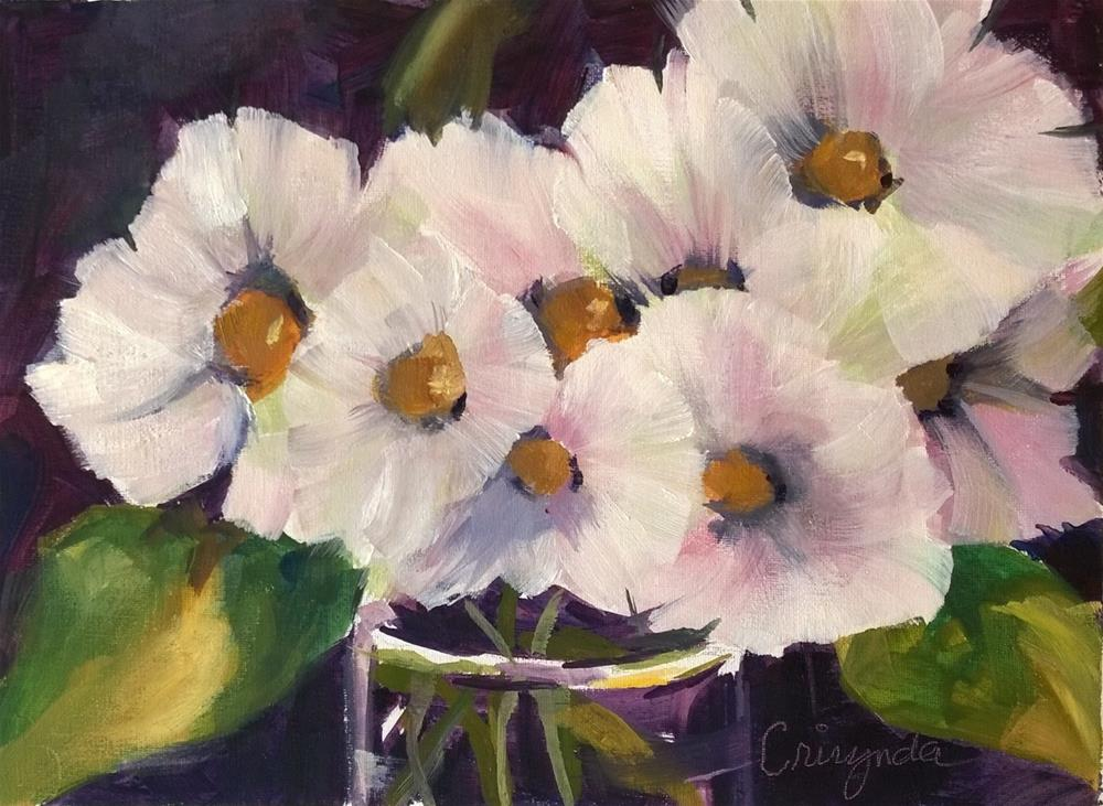 """Huddled Together"" original fine art by Crisynda Buss"