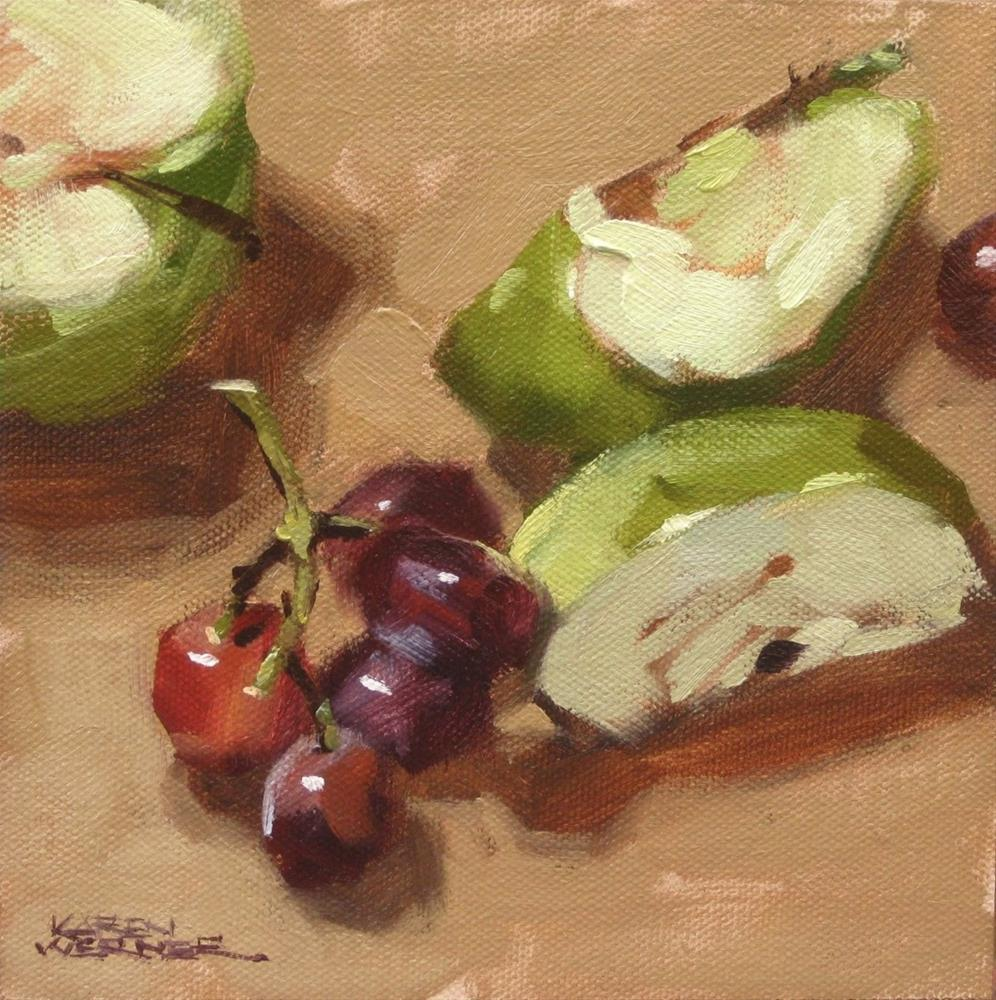 """Natural Snack"" original fine art by Karen Werner"