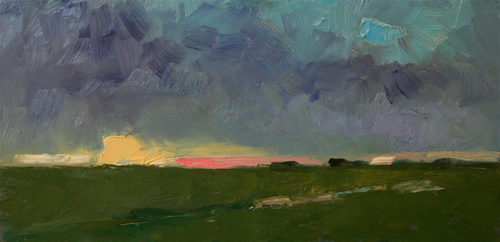"""Landscape (Semi-abstract)"" original fine art by Andre Pallat"