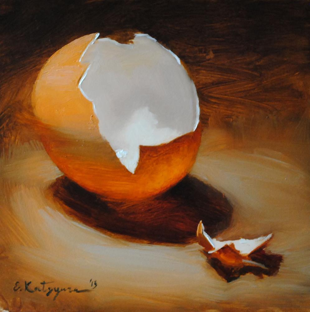 """Broken"" original fine art by Elena Katsyura"