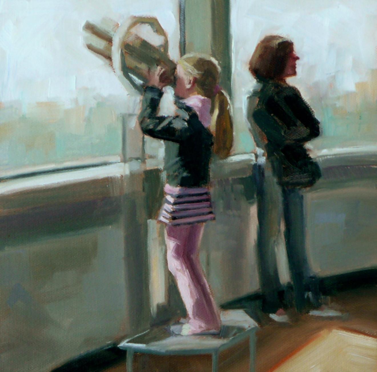 """Observation"" original fine art by Dana Cooper"