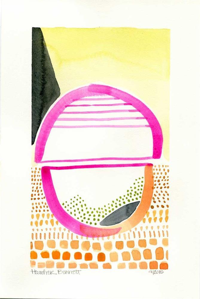 """""""Untitled"""" original fine art by Heather Bennett"""