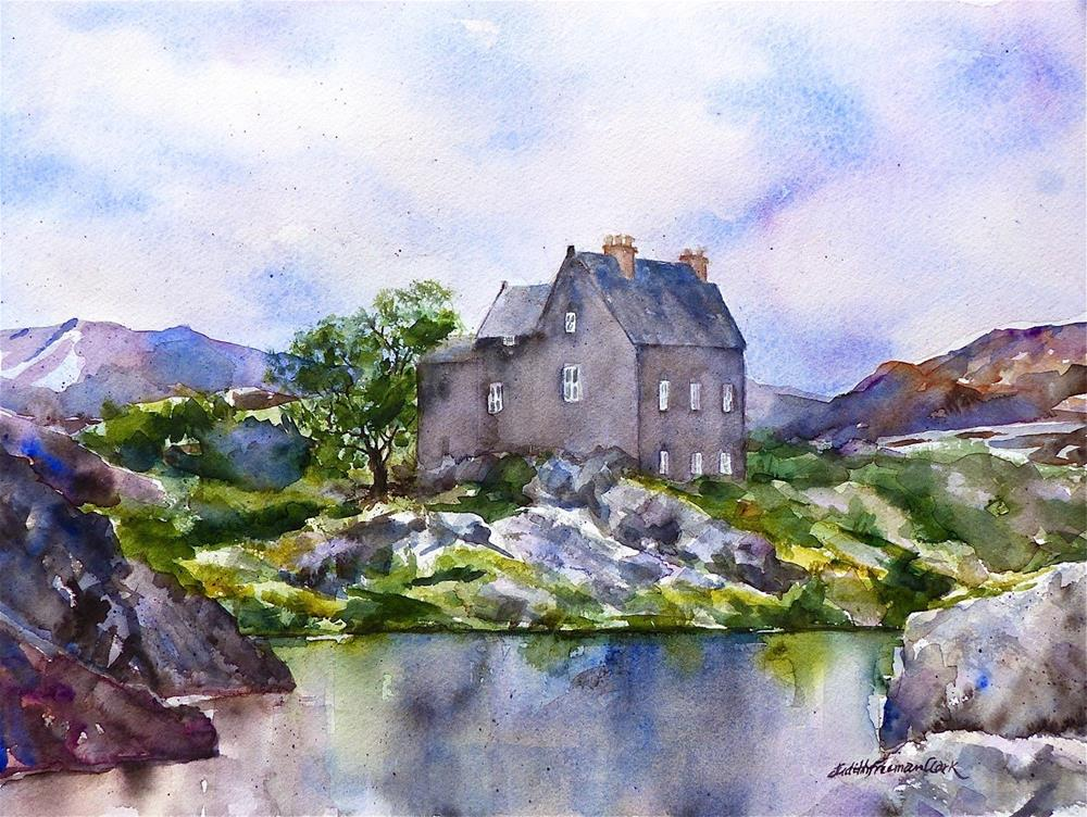"""Highland Reflections"" original fine art by Judith Freeman Clark"