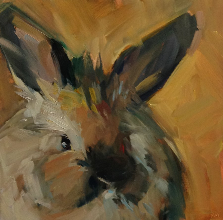 """Butterball"" original fine art by Patti McNutt"