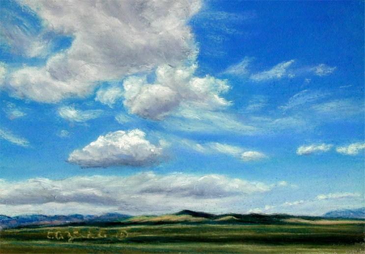 """""""Fast Trackers"""" original fine art by Carol Zirkle"""