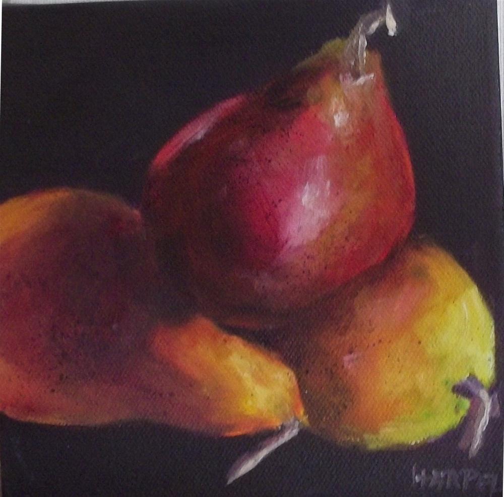 """Trio of Friends"" original fine art by Alice Harpel"