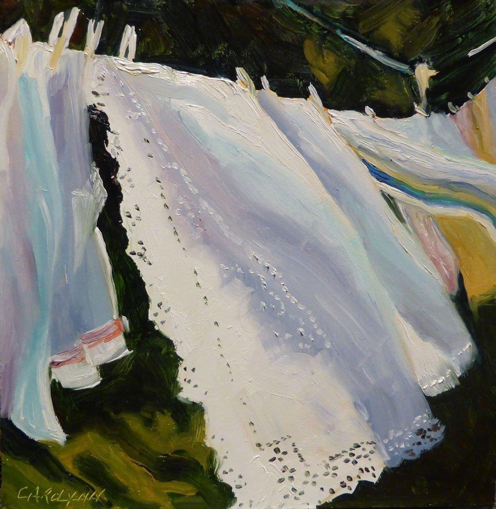 """""""Relinquishing Control"""" original fine art by Carolynn Doan"""