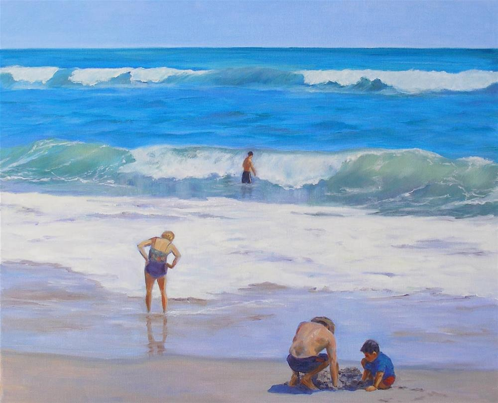 """Rites of Spring, 18 x 24 Oil Painting"" original fine art by Carmen Beecher"