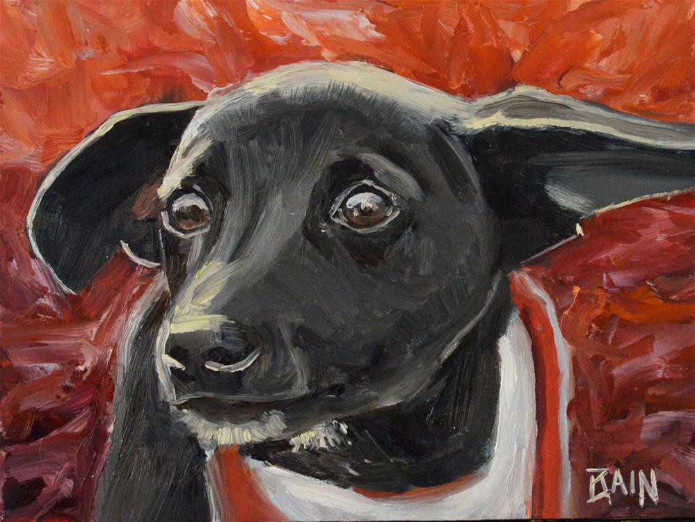 """Bright Eyes"" original fine art by Peter Bain"