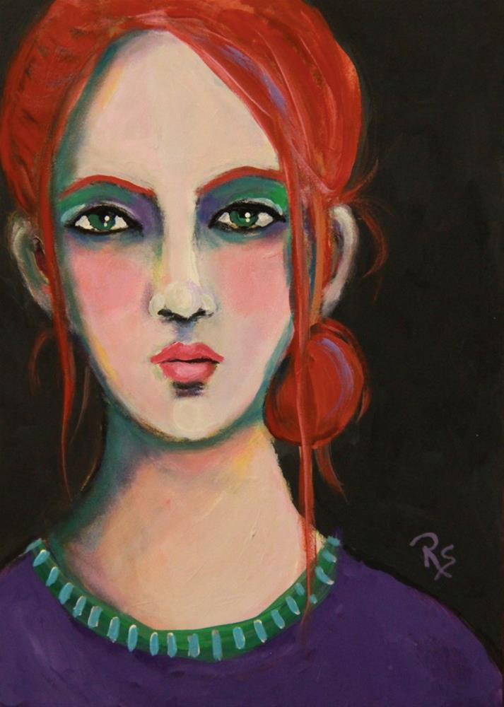 """Alita"" original fine art by Roberta Schmidt"