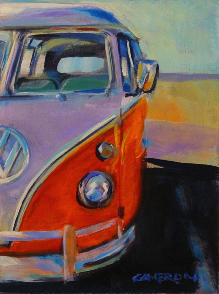 """DOUBLE SLUGBUG"" original fine art by Brian Cameron"