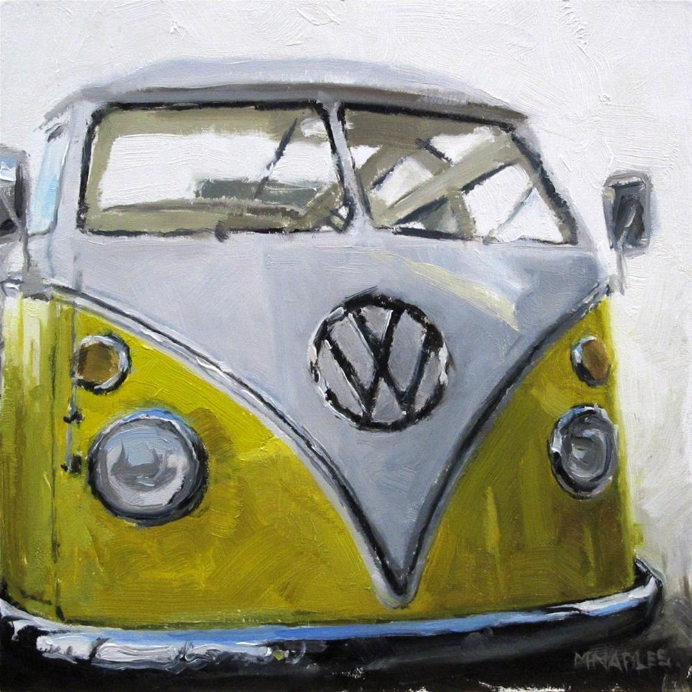 """VW Bus"" original fine art by Michael Naples"