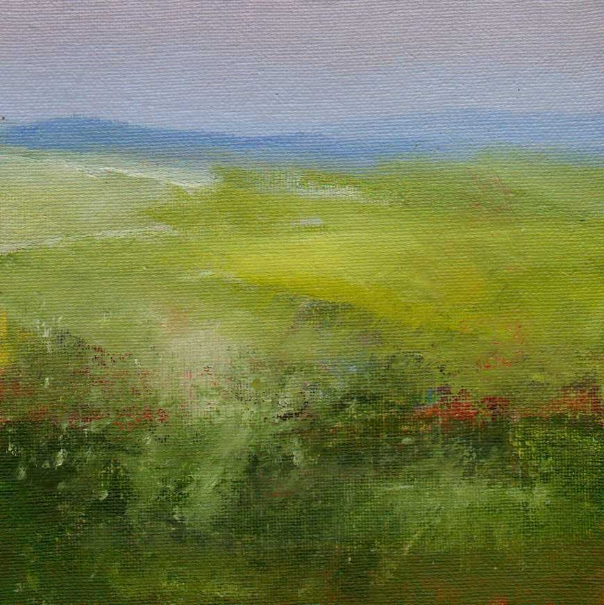 """wildflowers"" original fine art by Leo DeBak"
