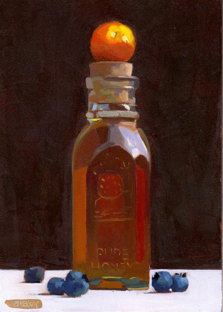 """Daily Diaper #277 Farmer's Market"" original fine art by Brian Burt"