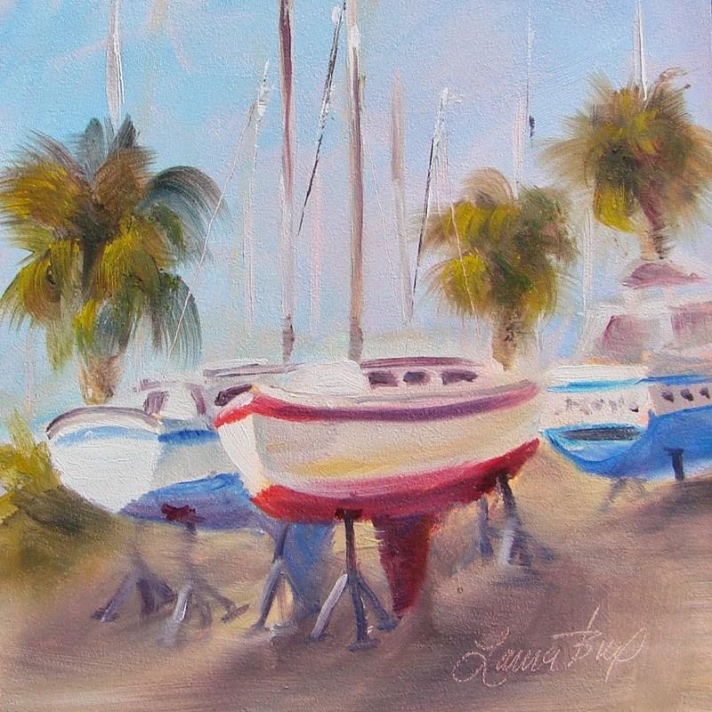 """Dry Dock 224"" original fine art by Laura  Buxo"
